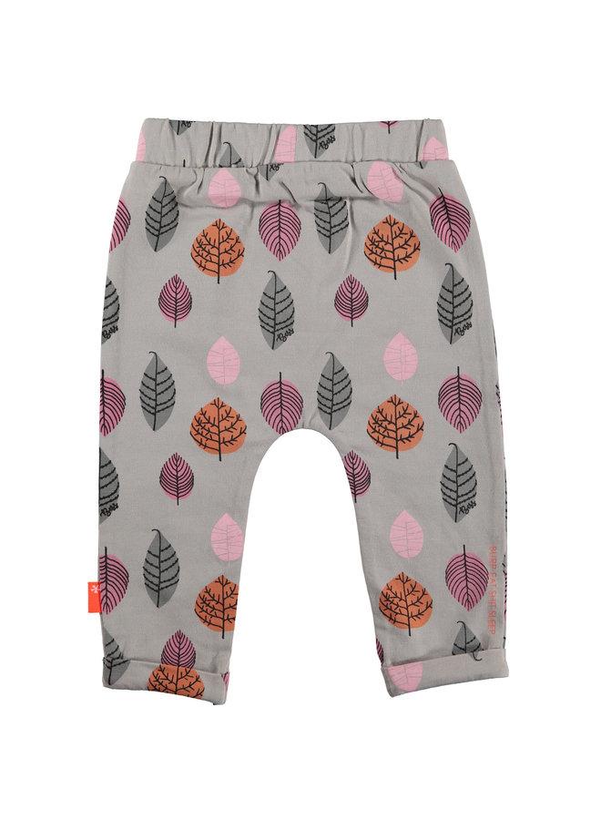 Pants aop leaves