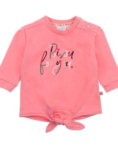 Feetje-baby Sweater Bisou Roze - Mon Petit