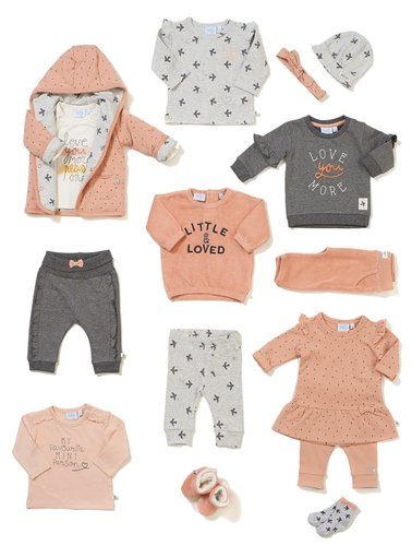Feetje-baby Sok Grijs - Little and Loved