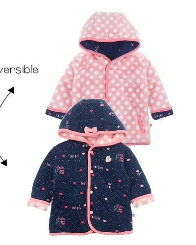 Feetje-baby Omkeerbaar jasje met cappuchon Marine - Mon Petit
