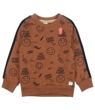 Sturdy Sweater AOP - Popcorn power