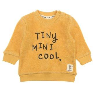 Feetje-baby Sweater Tiny Geel - Dino