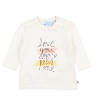 Feetje-baby Longsleeve Love You More Offwhite - Little and Loved