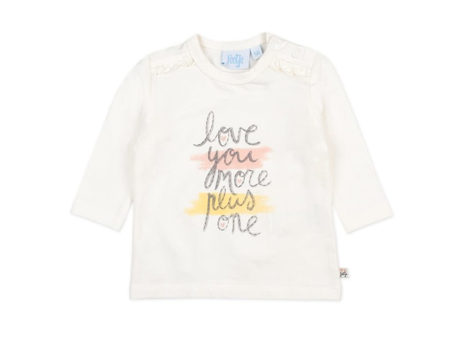 Longsleeve Love You More Offwhite - Little and Loved
