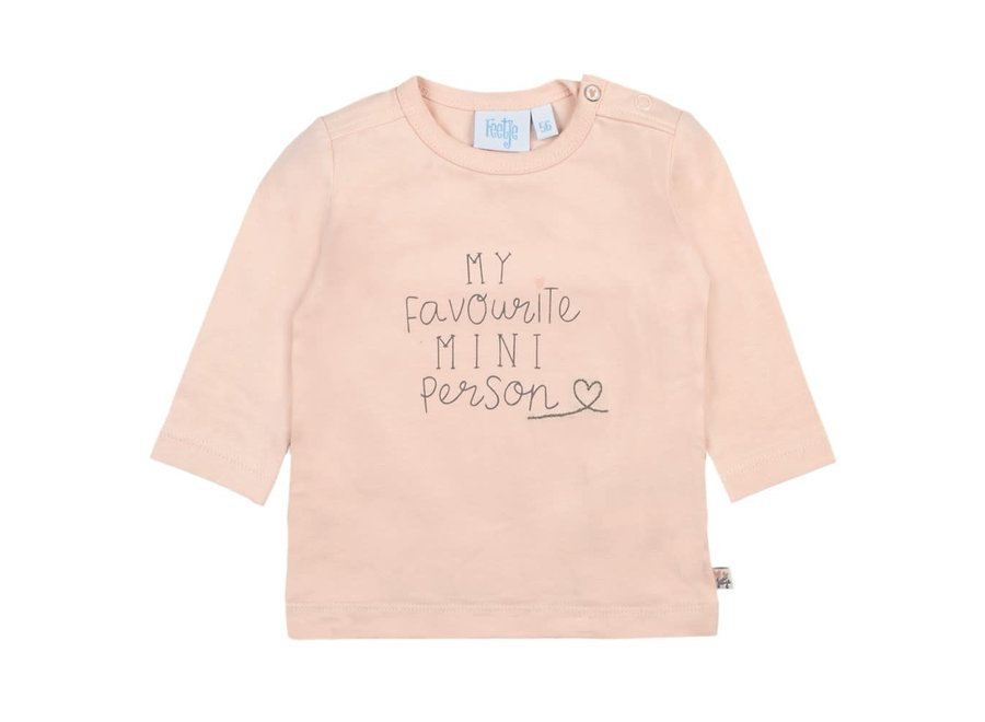 Longsleeve My Favourite Roze -Little and Loved
