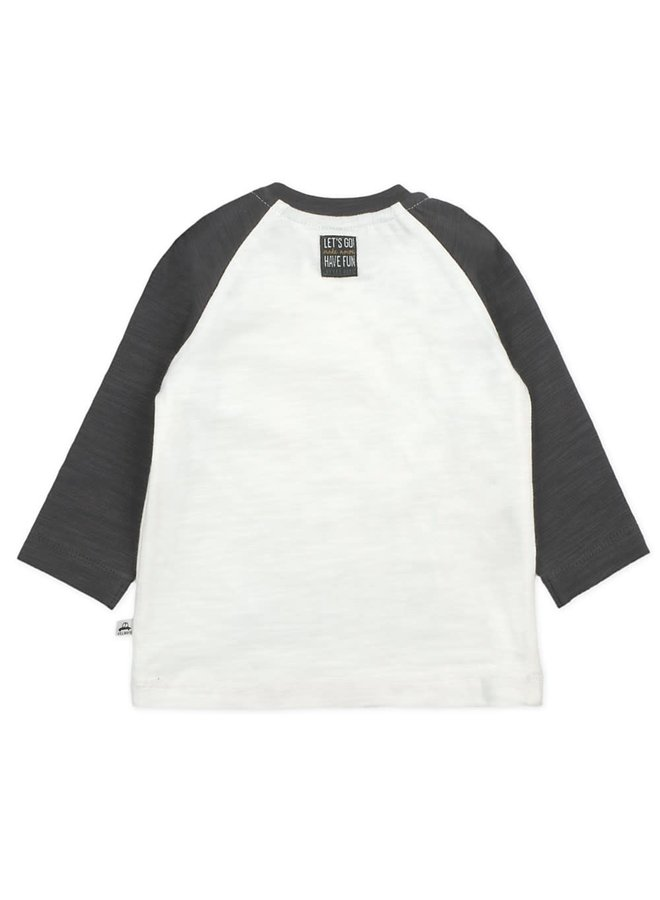 Longsleeve Coolest Kid Offwhite - Cars