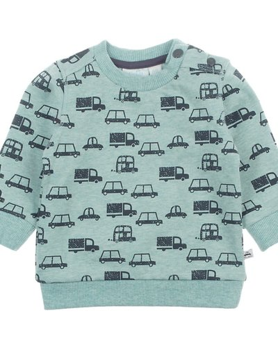 Feetje-baby Sweater Mint - Cars