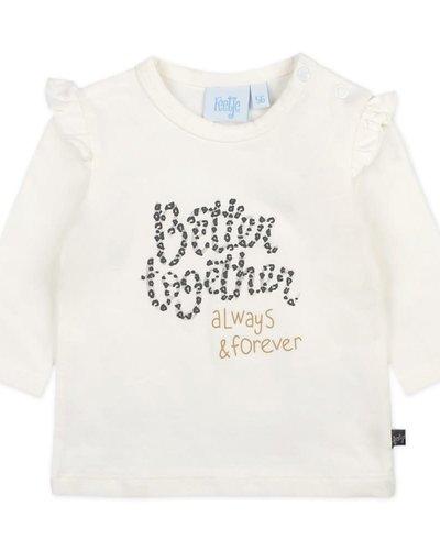 Feetje-baby Longsleeve Offwhite - Better Together