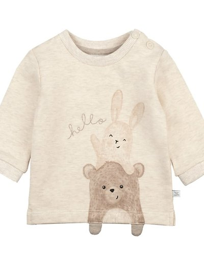 Feetje-baby Sweater Offwhite - Happy