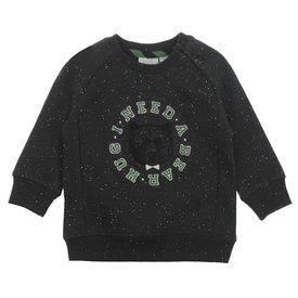 Feetje-baby Sweater I Need zwart - Bear Hug