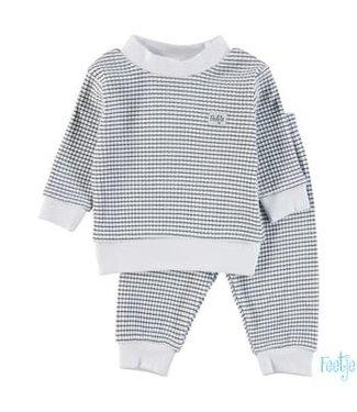 Feetje-baby Pyjama wafel  Marine