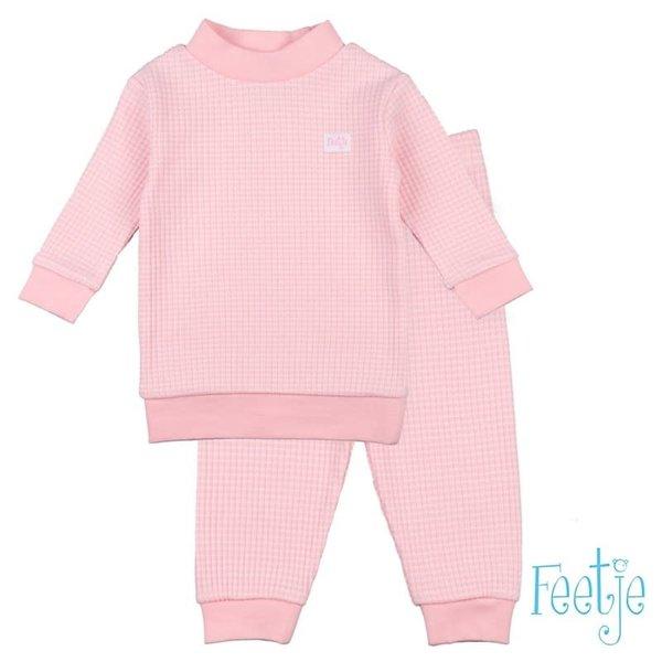Pyjama wafel Zalm