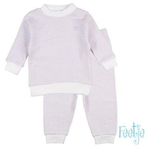 Wafel pyjama Lila