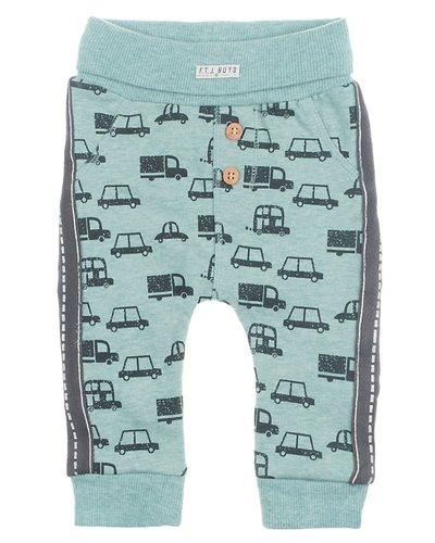 Feetje-baby Broek AOP Mint - Cars