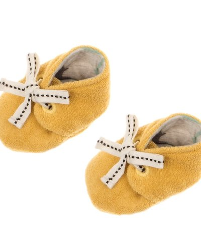 Feetje-baby Slofje Geel - Dino