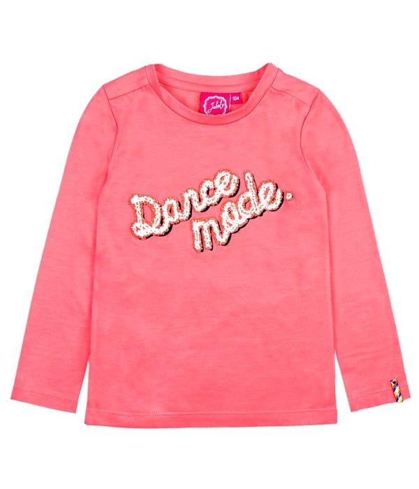 Jubel Longsleeve Dance Mode Koraal - Pret-A-Party