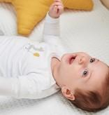 Feetje-baby Longsleeve Wit - Giraffe