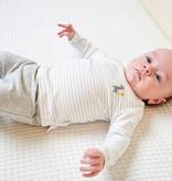 Feetje-baby Broek Grijs - Giraffe