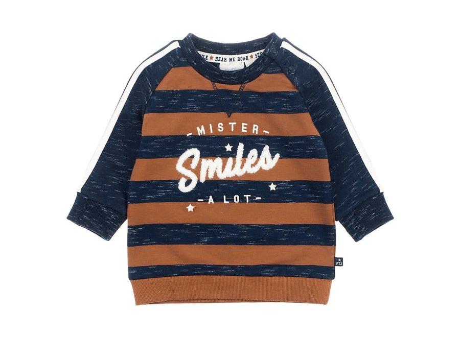 Sweater Mister Smiles Marine - Smile & Roar