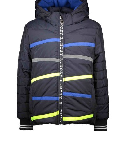 B.nosy Boys jacket with small stroke stitching