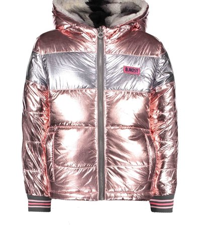 B.nosy Girls reversible jacket light pink