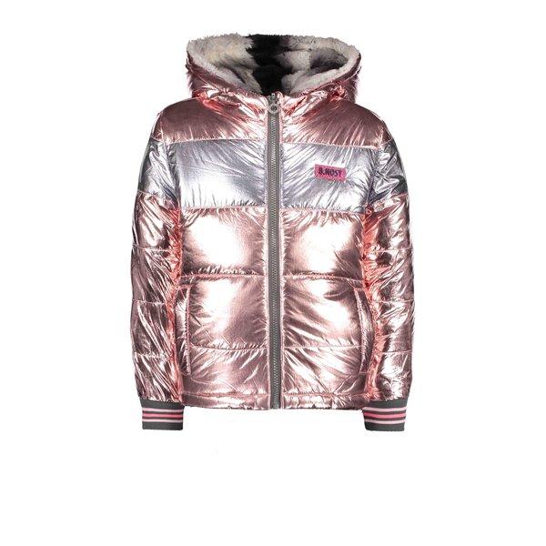Girls reversible jacket light pink