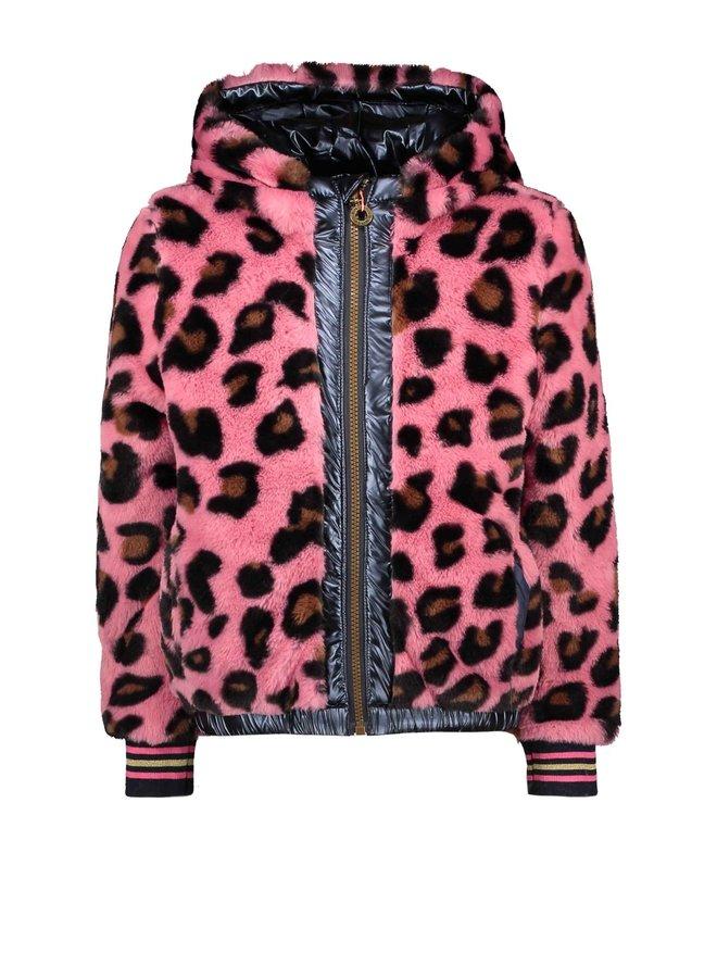 Girls reversible jacket blue