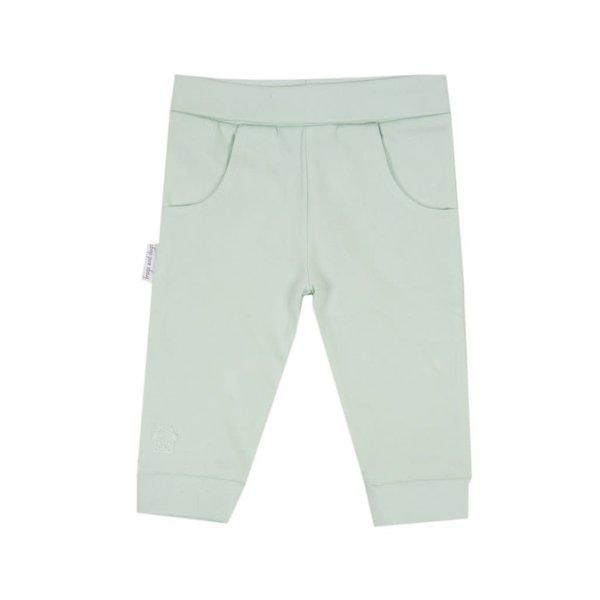 Joggingbroek effen roze/blauw/mint