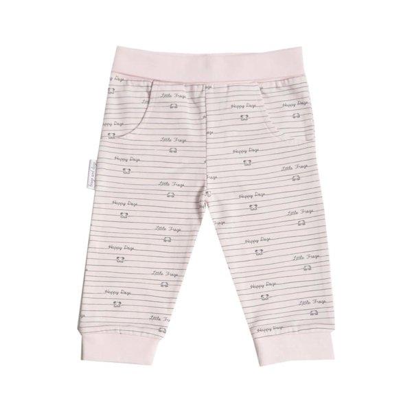 Joggingbroek print roze/blauw/mintgroen