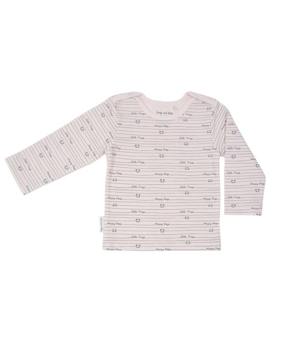 Frogs and Dogs Shirt print roze/blauw/mintgroen