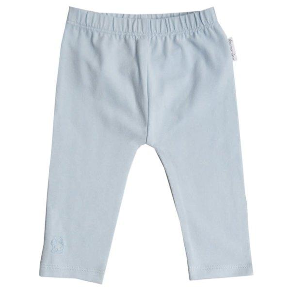 Legging effen roze/blauw/mintgroen