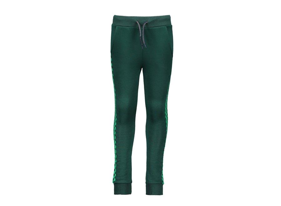 Sporty pants Botanical green