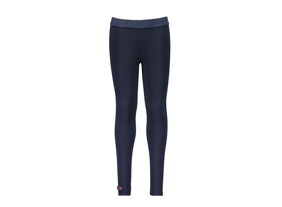 Legging uni Black & Oxford blue