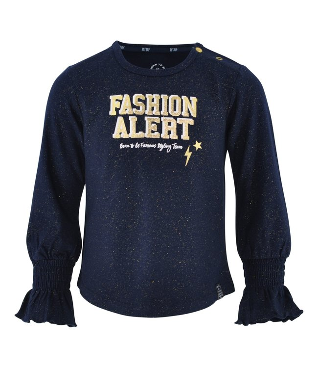 Born to be Famous Shirt Evi navy