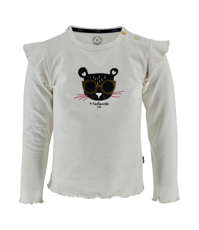 Born to be Famous Shirt Krista offwhite