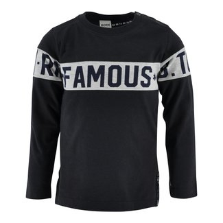 Born to be Famous Shirt Potter antraciet