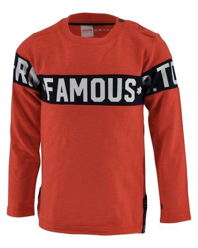 Born to be Famous Shirt Renzo oranje