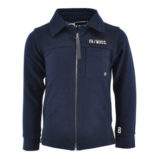 Born to be Famous Vest Willem Navy