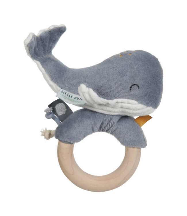 Little Dutch LITTLE D. WALVIS HOUTEN RING  3 kleuren