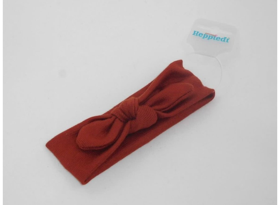 Haarband Knoop Roestbruin
