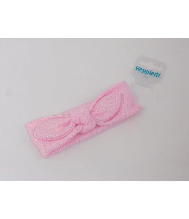 Heppiedi Babyhaarband knoop roze