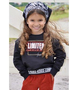 Kiddo Shirt  Carly black/ brique
