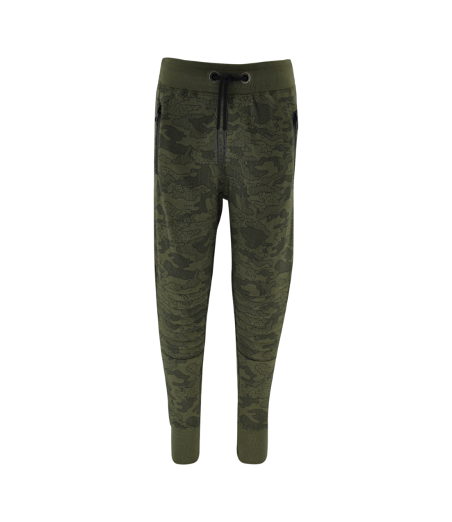 Kiddo Broek Max Army legerprint