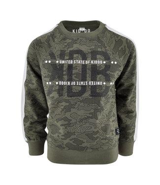 Kiddo Sweater Peter Army legerprint