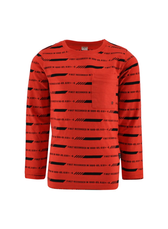 Shirt Trevor oranje