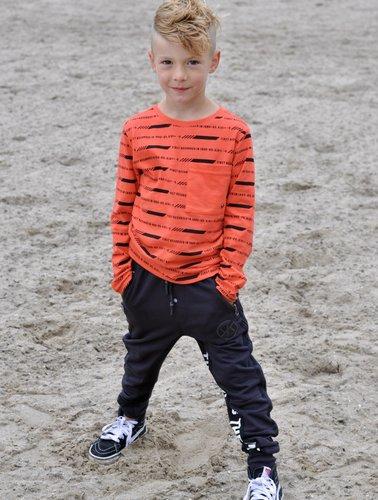 Kiddo Shirt Trevor oranje