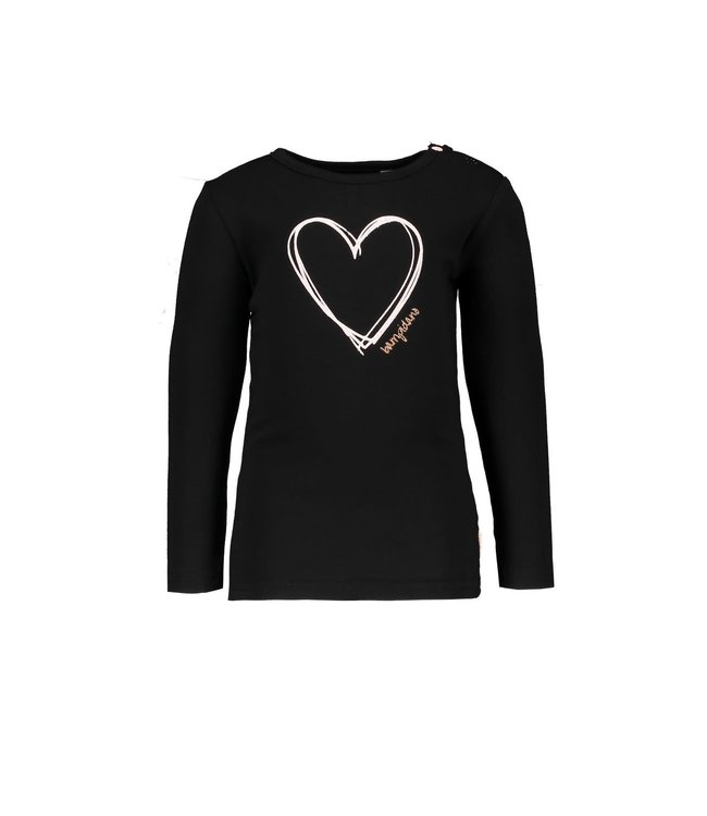 "Bampidano Shirt Carlijn antraciet "" Dalmatian """