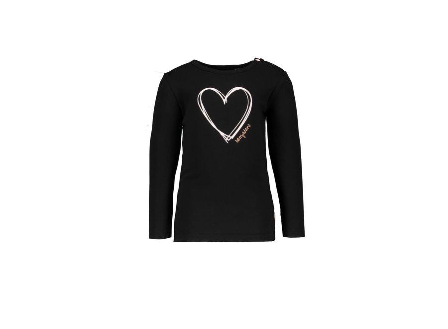 """Shirt Carlijn antraciet """" Dalmatian """""""