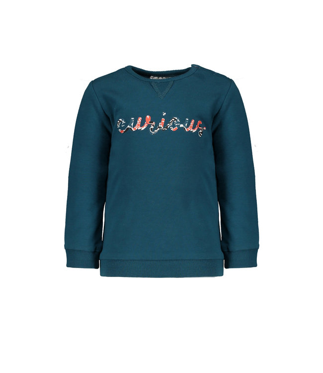 "Bampidano Sweater Calvin petrol "" Traffic """