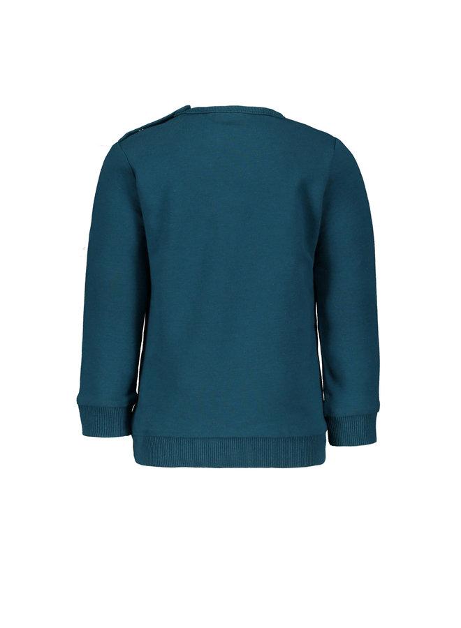 """Sweater Calvin petrol """" Traffic """""""